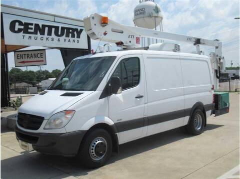 2012 Mercedes-Benz Sprinter Cargo for sale at CENTURY TRUCKS & VANS in Grand Prairie TX