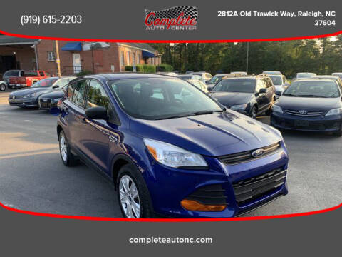 2016 Ford Escape for sale at Complete Auto Center , Inc in Raleigh NC