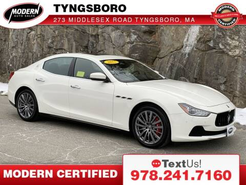 2017 Maserati Ghibli for sale at Modern Auto Sales in Tyngsboro MA
