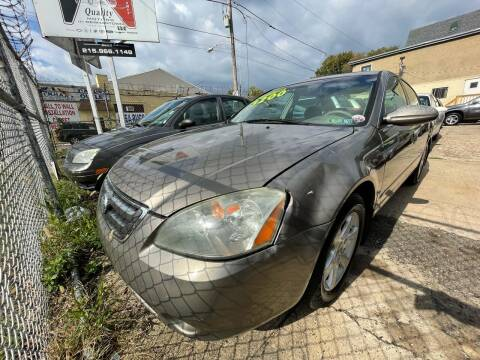 2003 Nissan Altima for sale at Quality Motors of Germantown in Philadelphia PA