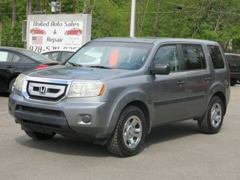2009 Honda Pilot for sale at United Auto Service in Leominster MA