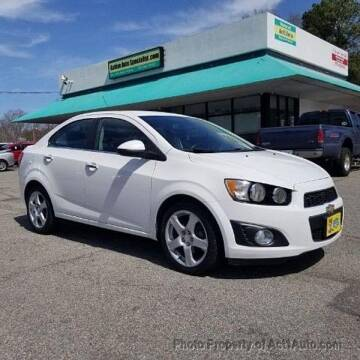 2015 Chevrolet Sonic for sale at Action Auto Specialist in Norfolk VA