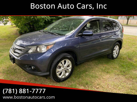 2012 Honda CR-V for sale at Boston Auto Cars in Dedham MA