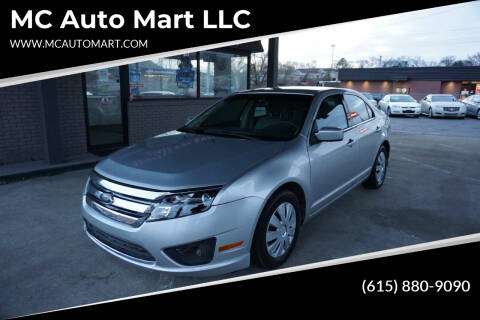 2011 Ford Fusion for sale at MC Auto Mart LLC in Hermitage TN
