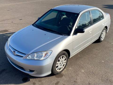 2005 Honda Civic for sale at Affordable Auto Sales in Cambridge MN