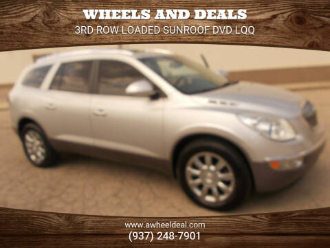 2012 Buick Enclave for sale at Wheels and Deals in New Lebanon OH