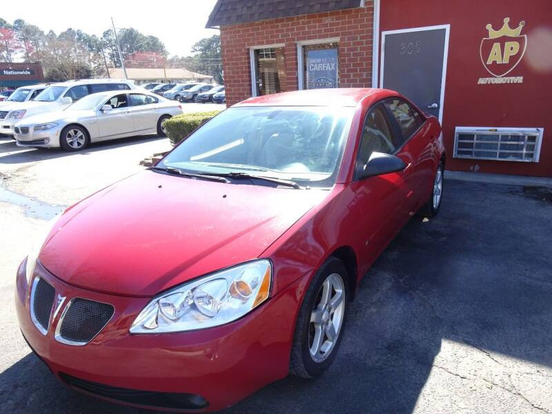 2007 Pontiac G6 for sale at AP Automotive in Cary NC