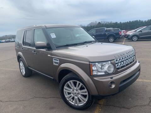 2012 Land Rover LR4 for sale at Trocci's Auto Sales in West Pittsburg PA