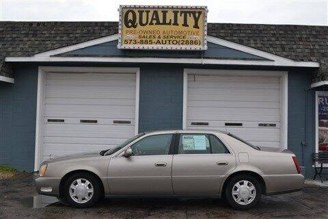 2004 Cadillac DeVille for sale at Quality Pre-Owned Automotive in Cuba MO