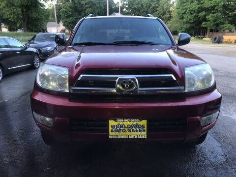 2005 Toyota 4Runner for sale at Worldwide Auto Sales in Fall River MA