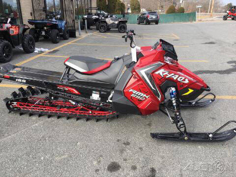 2021 Polaris 850 RMK KHAOS 155 TRACK 2.6 PI for sale at ROUTE 3A MOTORS INC in North Chelmsford MA
