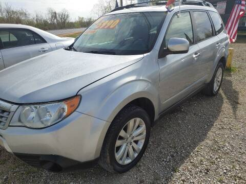 2012 Subaru Forester for sale at Finish Line Auto LLC in Luling LA