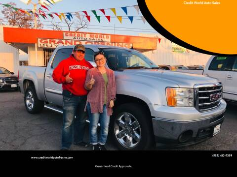 2013 GMC Sierra 1500 for sale at Credit World Auto Sales in Fresno CA