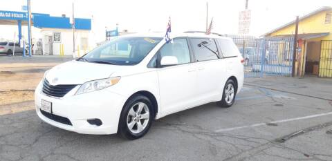 2011 Toyota Sienna for sale at Autosales Kingdom in Lancaster CA