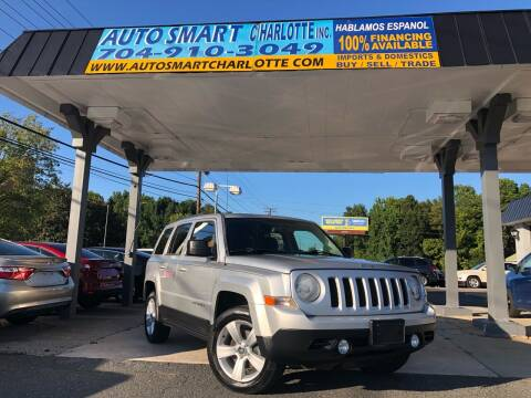 2013 Jeep Patriot for sale at Auto Smart Charlotte in Charlotte NC