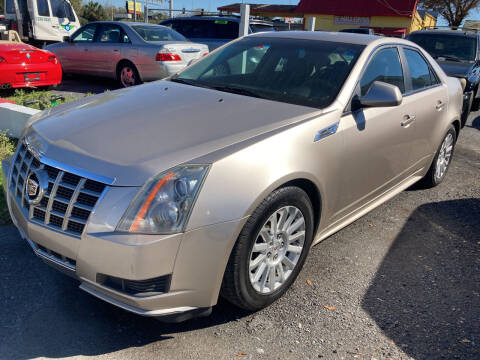 2013 Cadillac CTS for sale at The Peoples Car Company in Jacksonville FL