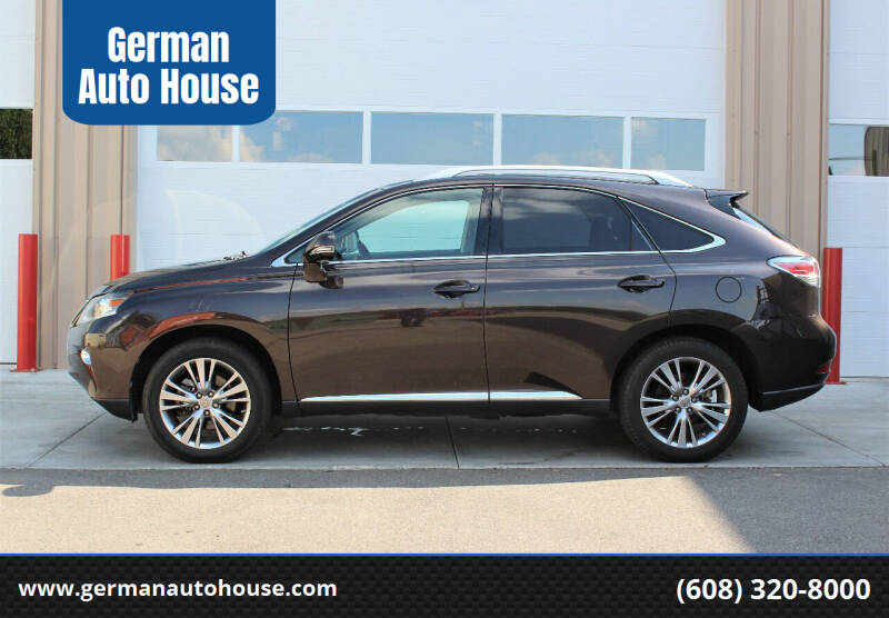 2013 Lexus RX 350 for sale at German Auto House in Fitchburg WI