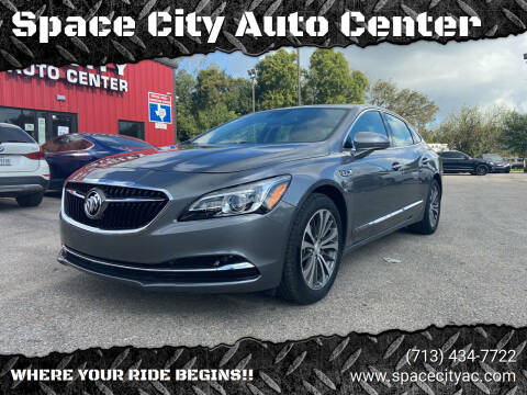 2018 Buick LaCrosse for sale at Space City Auto Center in Houston TX