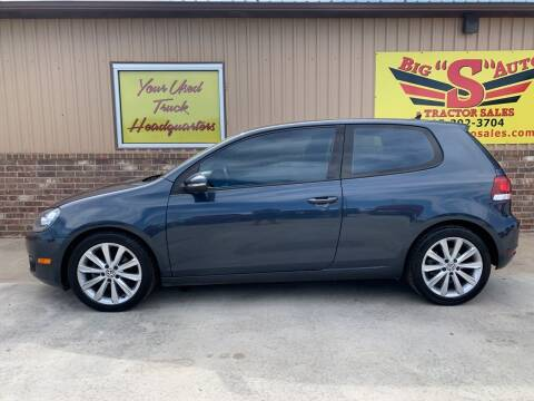 2012 Volkswagen Golf for sale at BIG 'S' AUTO & TRACTOR SALES in Blanchard OK