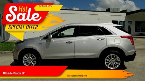 2018 Cadillac XT5 for sale at MG Auto Center LP in Lake Park FL