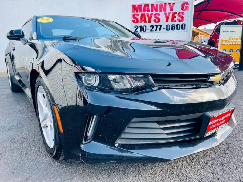 2016 Chevrolet Camaro for sale at Manny G Motors in San Antonio TX