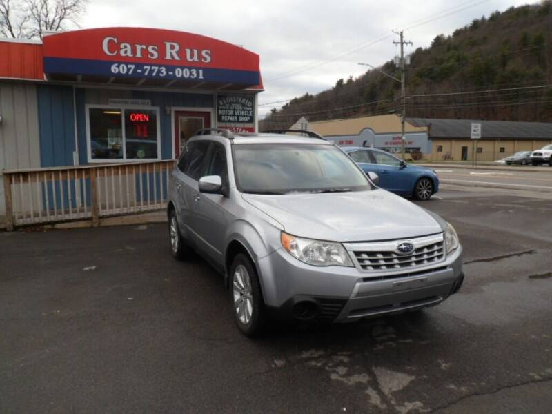 2012 Subaru Forester for sale at Cars R Us in Binghamton NY