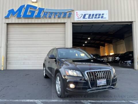 2012 Audi Q5 for sale at MGI Motors in Sacramento CA