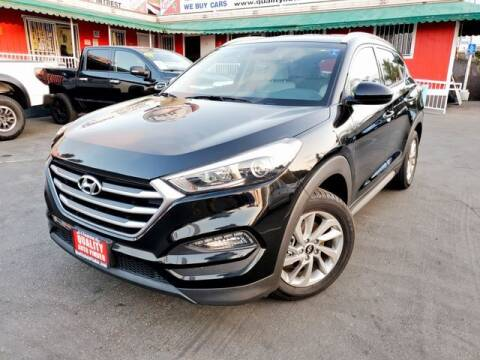 2017 Hyundai Tucson for sale at QUALITY AUTO FINDER in San Diego CA