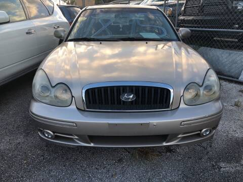 2005 Hyundai Sonata for sale at Louie's Auto Sales in Leesburg FL