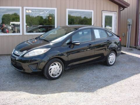 2013 Ford Fiesta for sale at Greg Vallett Auto Sales in Steeleville IL