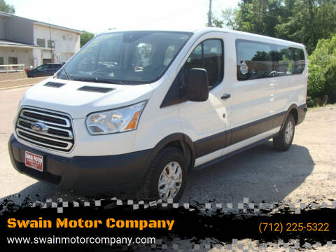 2018 Ford Transit Passenger for sale at Swain Motor Company in Cherokee IA