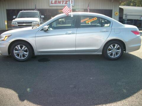 2012 Honda Accord for sale at Lentz's Auto Sales in Albemarle NC