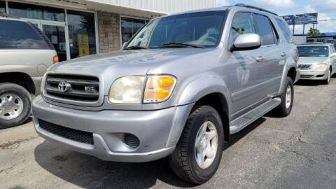 2001 Toyota Sequoia for sale at Tri City Auto Mart in Lexington KY