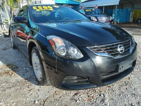 2012 Nissan Altima for sale at AFFORDABLE AUTO SALES OF STUART in Stuart FL