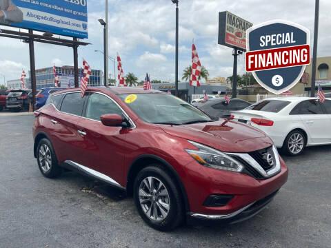 2018 Nissan Murano for sale at MACHADO AUTO SALES in Miami FL