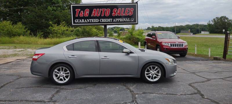 2009 Nissan Maxima for sale at T & G Auto Sales in Florence AL