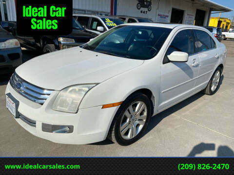 2008 Ford Fusion for sale at Ideal Car Sales in Los Banos CA