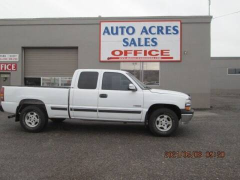 2000 Chevrolet Silverado 1500 for sale at Auto Acres in Billings MT