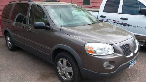 2005 Pontiac Montana SV6 for sale at Sunrise Auto Sales in Stacy MN