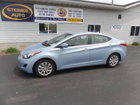 2012 Hyundai Elantra for sale at STEINKE AUTO INC. - Steinke Auto Inc (South) in Clintonville WI