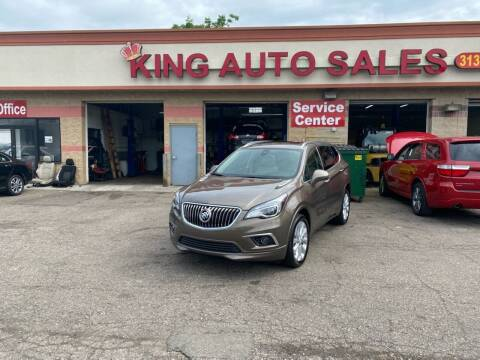 2016 Buick Envision for sale at KING AUTO SALES  II in Detroit MI