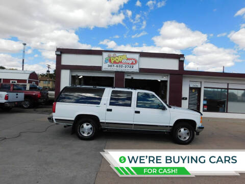 1999 GMC Suburban for sale at Pork Chops Truck and Auto in Cheyenne WY