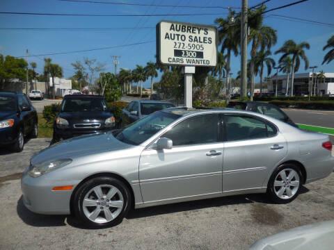 2005 Lexus ES 330 for sale at Aubrey's Auto Sales in Delray Beach FL