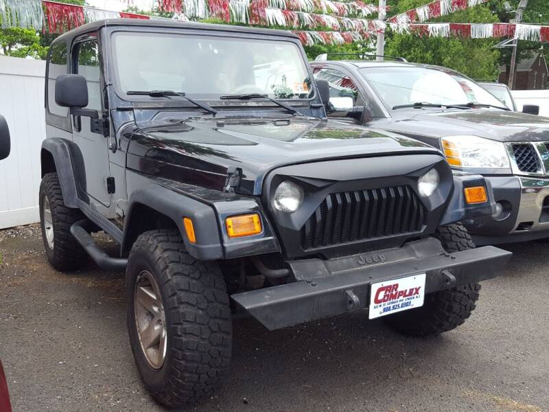 2003 Jeep Wrangler for sale at Car Complex in Linden NJ