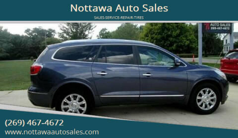 2014 Buick Enclave for sale at Nottawa Auto Sales in Nottawa MI