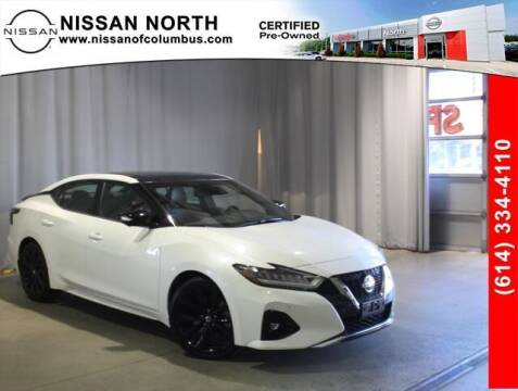 2019 Nissan Maxima for sale at Auto Center of Columbus in Columbus OH