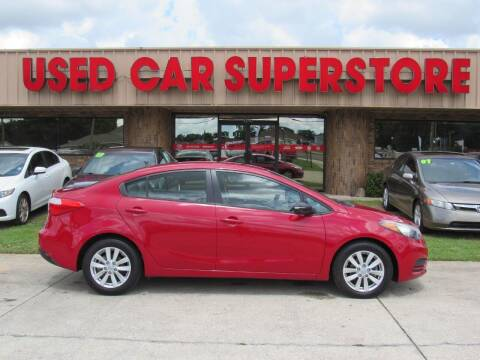 2014 Kia Forte for sale at Checkered Flag Auto Sales NORTH in Lakeland FL