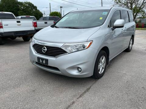 2016 Nissan Quest for sale at RODRIGUEZ MOTORS CO. in Houston TX