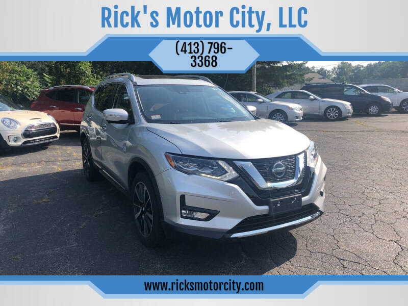 2018 Nissan Rogue for sale at Rick's Motor City, LLC in Springfield MA