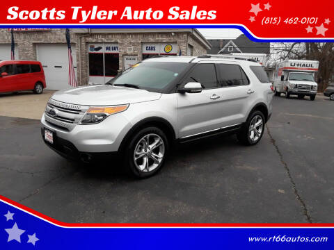 2012 Ford Explorer for sale at Scotts Tyler Auto Sales in Wilmington IL